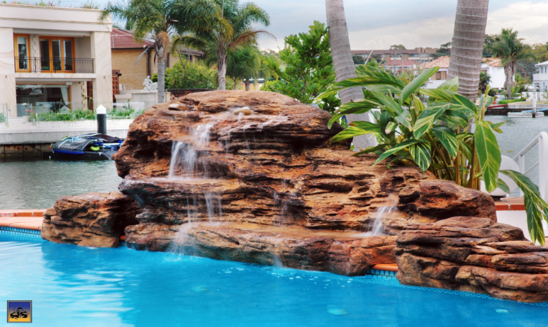Pool Rock Waterfalls, Fountains and Boulders (artificial, faux ...