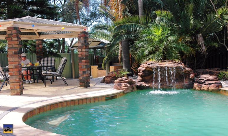 Swimming Pool Rock Waterfall Kit Diy