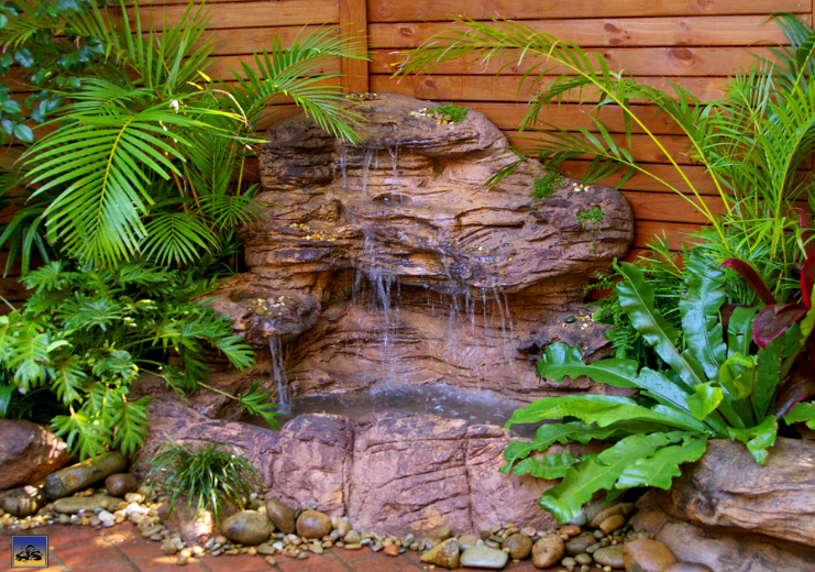 Swimming Pool Rock Waterfalls Kits Fountains And Boulders - Indoor fountain kits