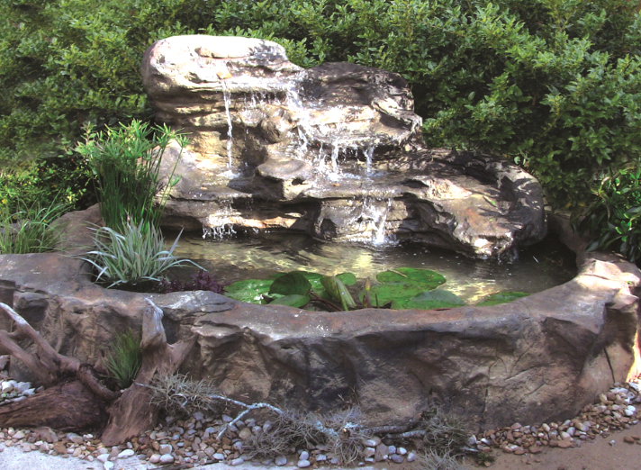 Serenity Pools Patio Pond Rock Fountain