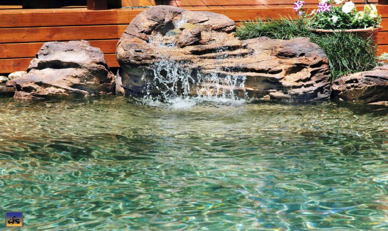 somerset rock swimming pool waterfall kit - Pool Waterfalls