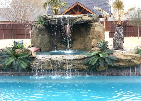 swimming pool rock grotto - Swimming Pools With Grottos